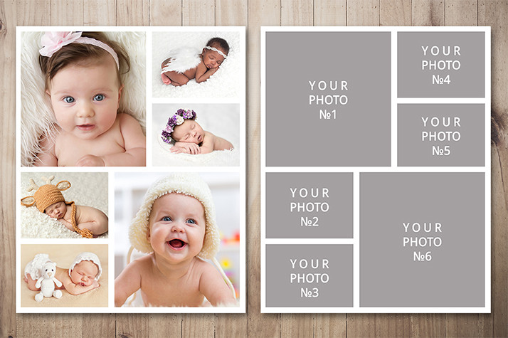 Download Free Photo Collage Template Photo Collage Template Photoshop