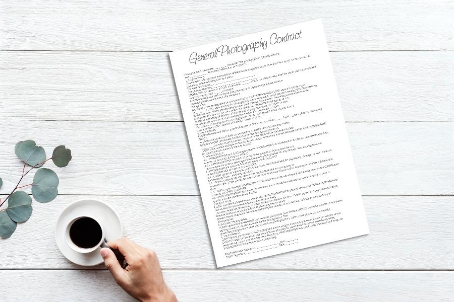 Wedding Photography Contract – 6 Free Wedding Photography