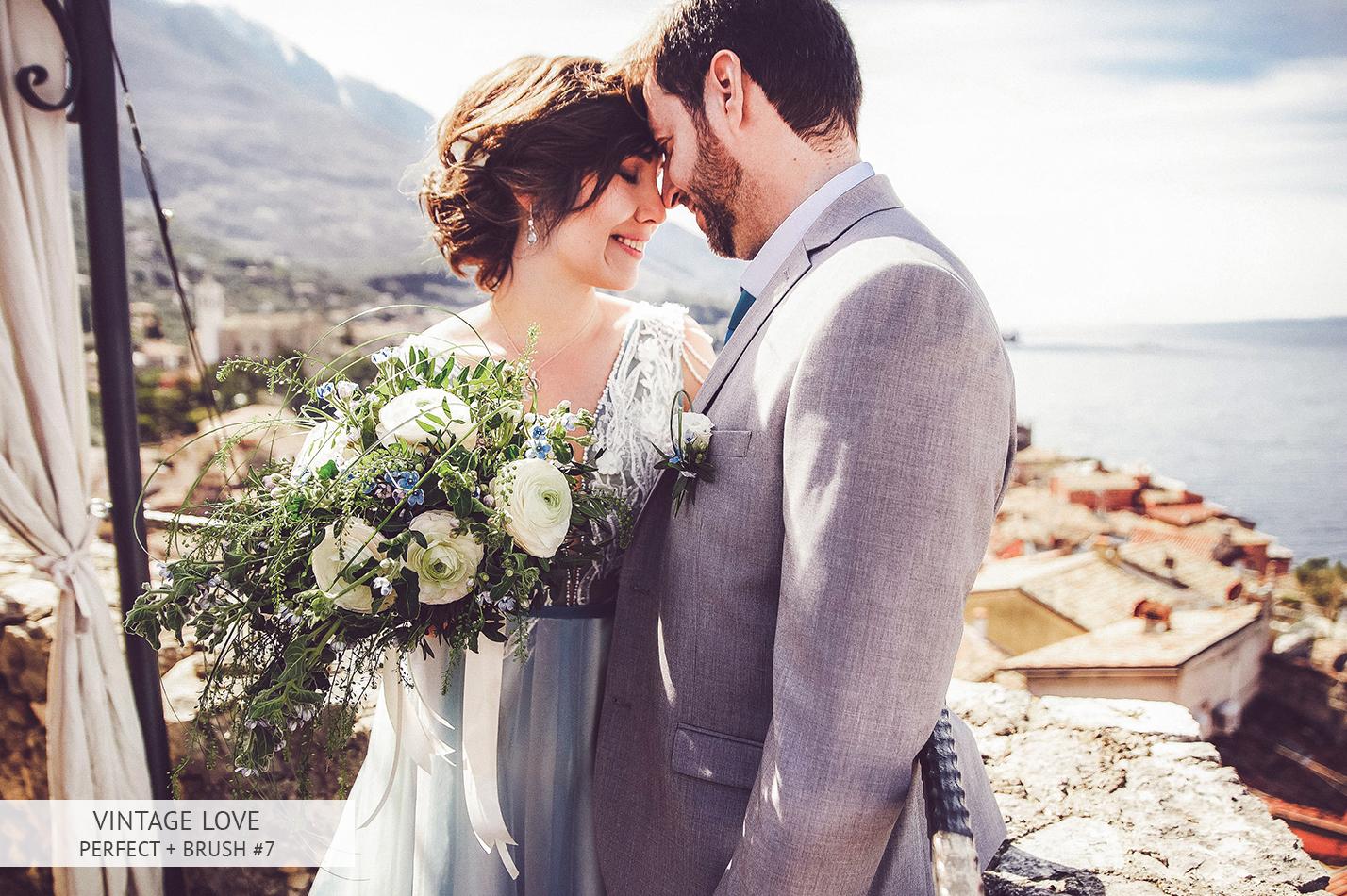 wedding vintage after