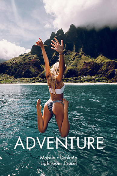adventure lightroom mobile presets cover