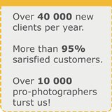 10 000 professional photographers trust us their photos