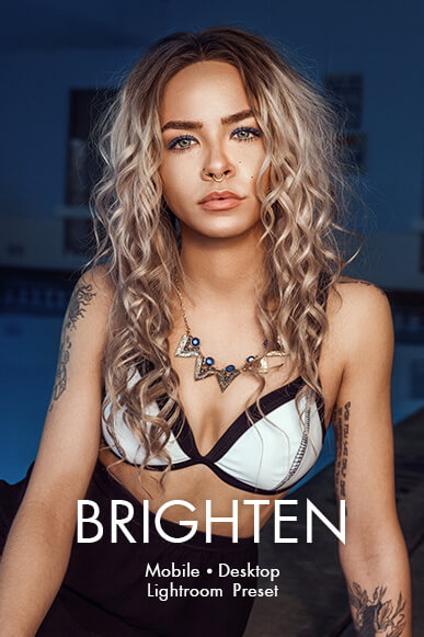 brighten lightroom mobile presets cover