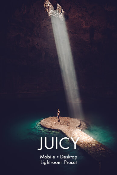 juicy lightroom mobile presets cover