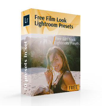 free lightroom film look presets cover box