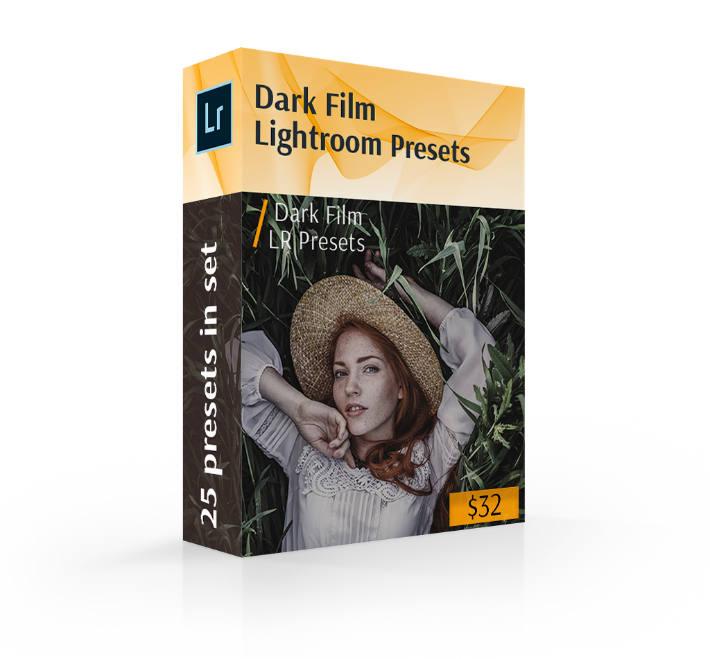 lightroom presets matte cover box