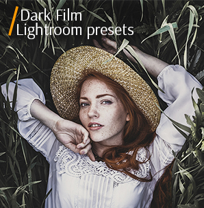 free autumn lightroom presets banner dark film