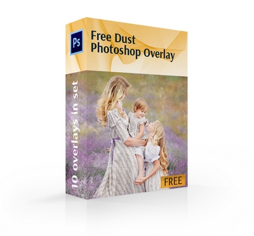 dust overlay photoshop free cover box