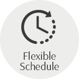 Flexible schedule clock time