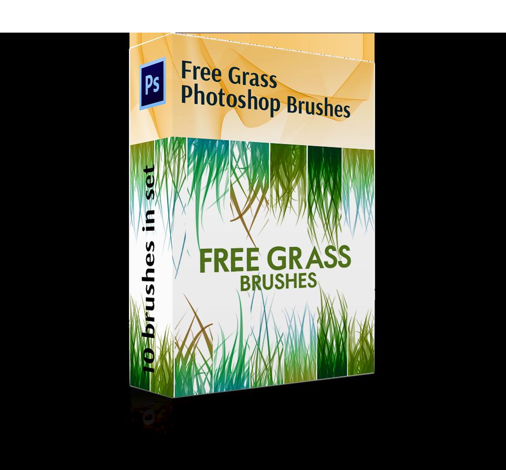 Free Download Grass Brush Photoshop