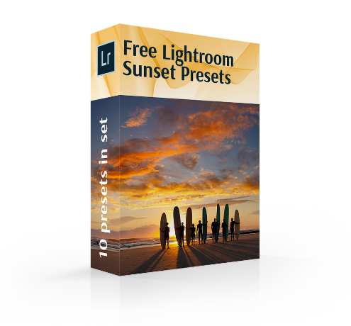 Try Free Sunset Lightroom Presets | Free Lightroom Sunset Preset Bundle