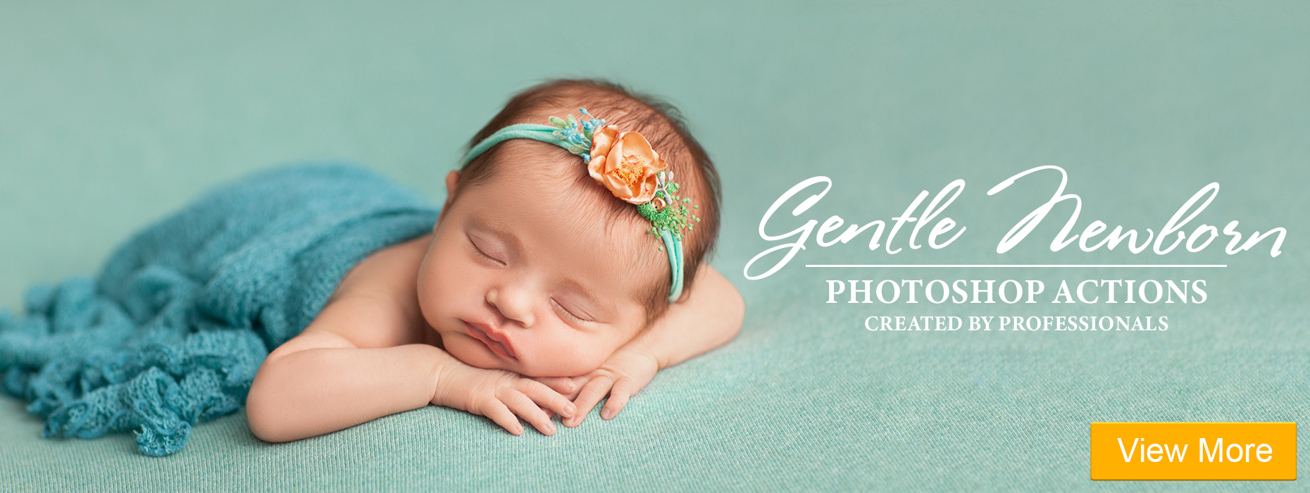 free photoshop actions download for eyes gentle newborn actions banner girl