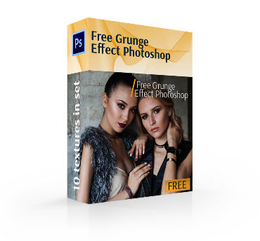 grunge effect photoshop free cover box