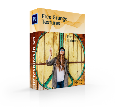 free grunge texture photoshop cover box