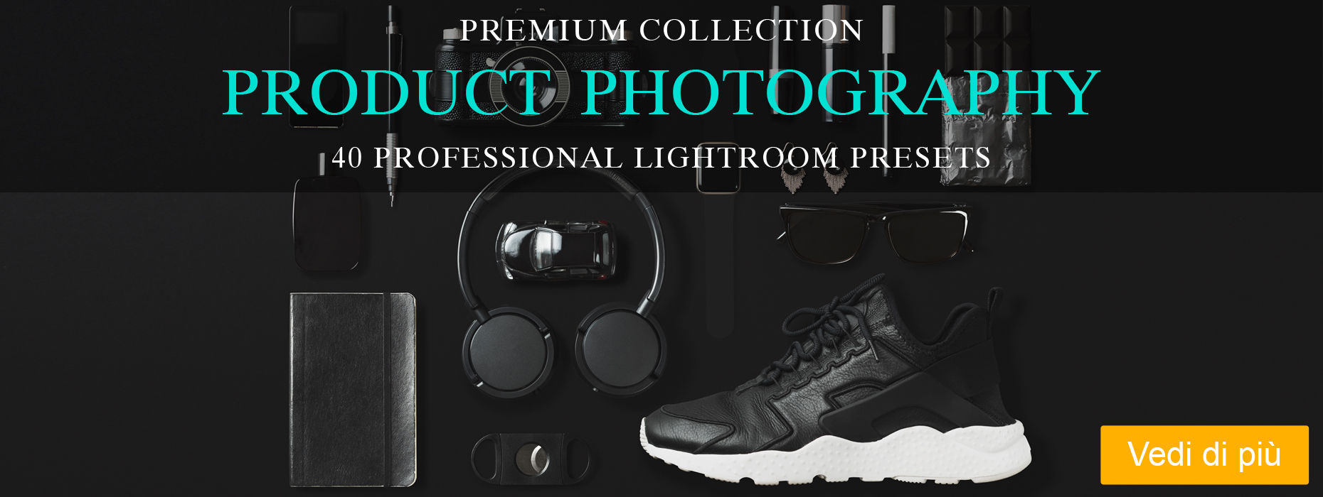 lightroom cibo gratis product collection