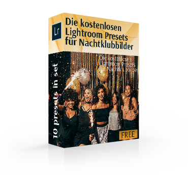 free nightclub lightroom preset cover box