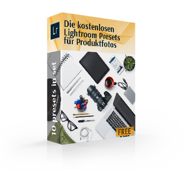 free lightroom product photography presets box pack