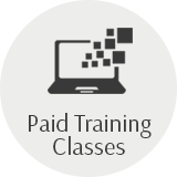 Paid training classes laptop
