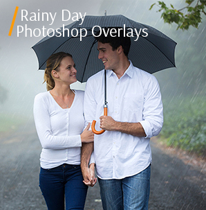 rainbow overlay photoshop free rainy days photoshop collection cover couple