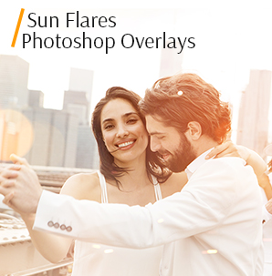 sun ray overlay sun flares photoshop overlays cover couple