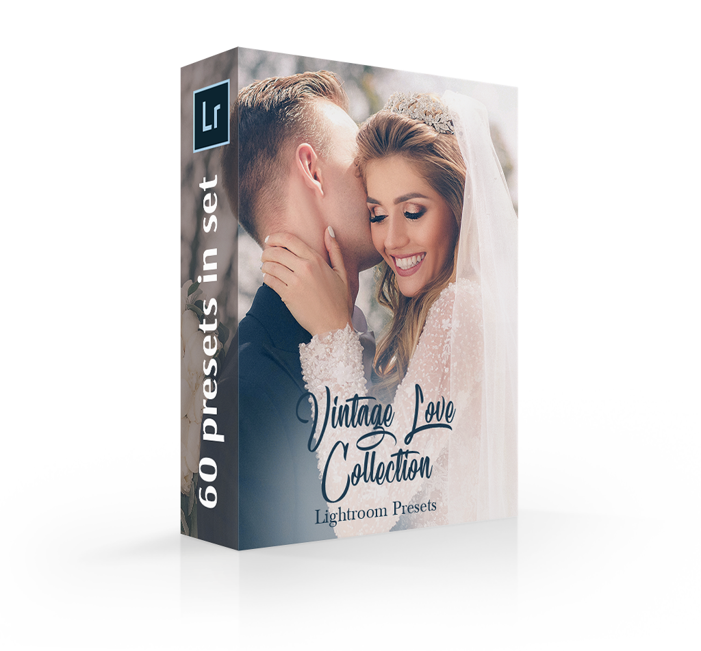 wedding lightroom presets cover box