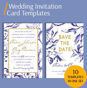wedding invitation card template packs template for wedding invitation