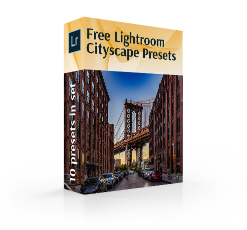 cityscape lightroom presets cover box