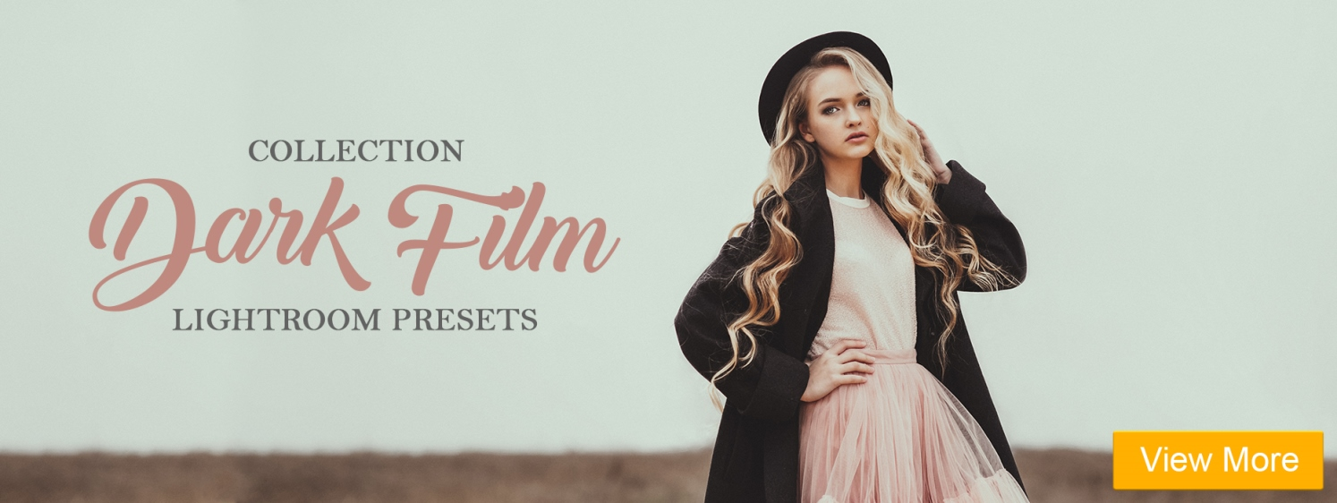 free lightroom film look presets film portrait lightroom presets banner