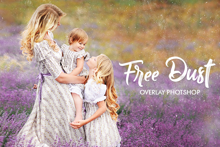 dust overlay photoshop free poster mother and daughter