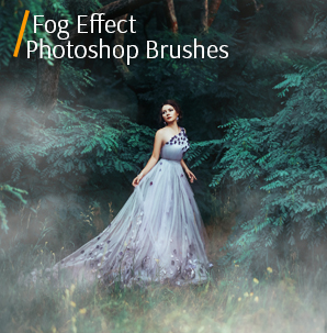 free grunge photoshop brushes fog effect brushes banner