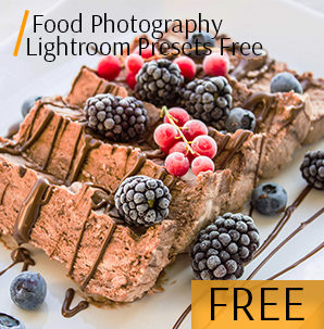 matte food photography lightroom presets free pack cover