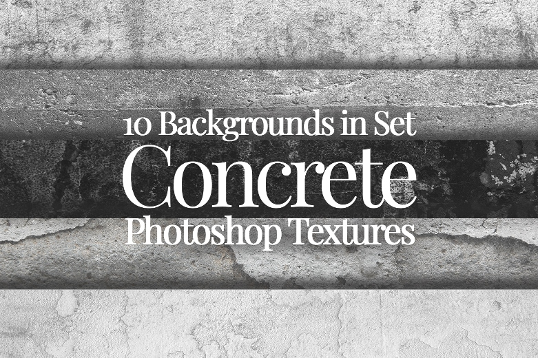 concrete photoshop texture poster