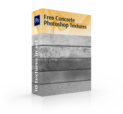 concrete photoshop texture cover box