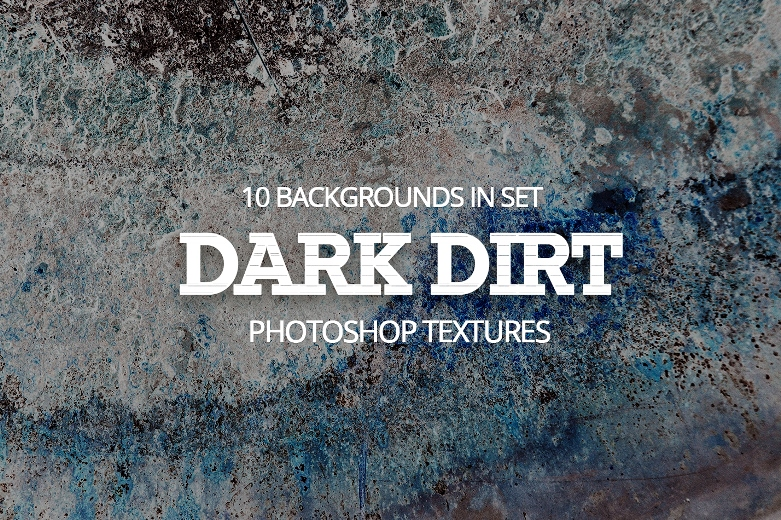 texture for photoshop Dark Dirt free poster Dark Dirt collection