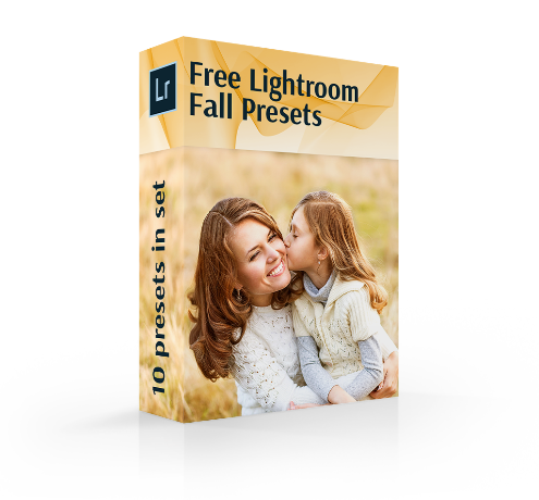 free fall lightroom presets cover box
