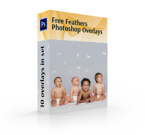 photoshop feather overlay free cover box
