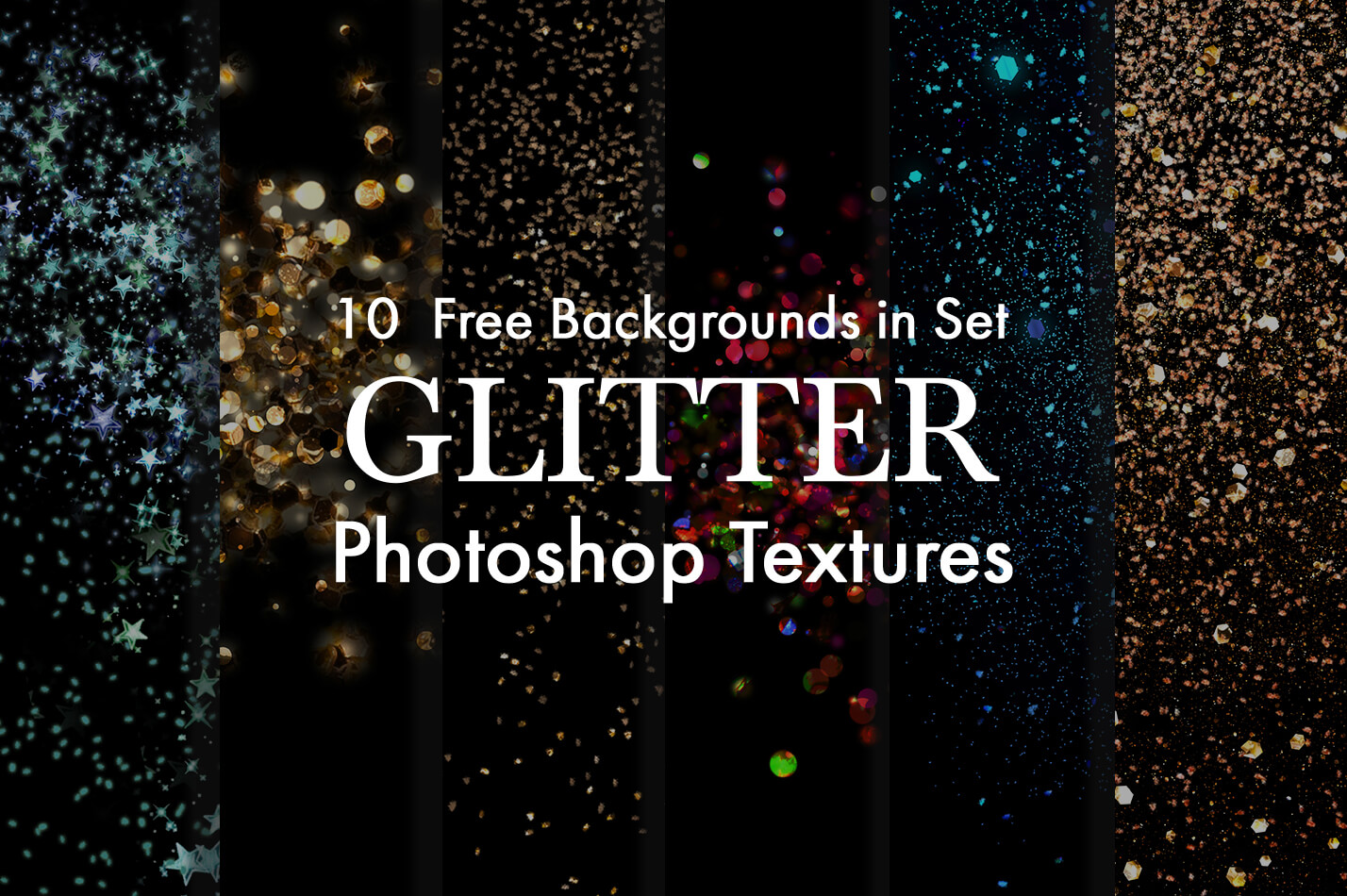 free glitter texture in photoshop poster books