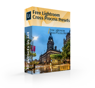 cross process free lightroom cross process presets cover box
