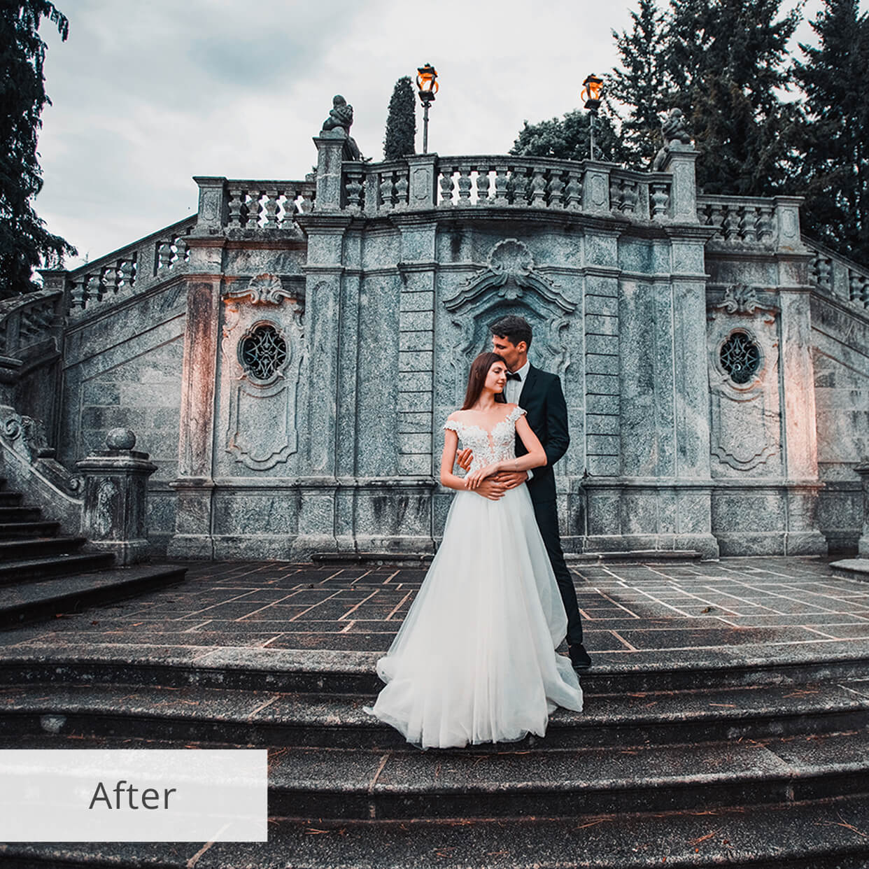wedding lightroom presets after - mob