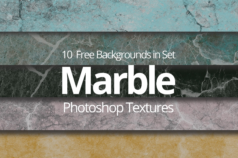 free marble texture photoshop poster