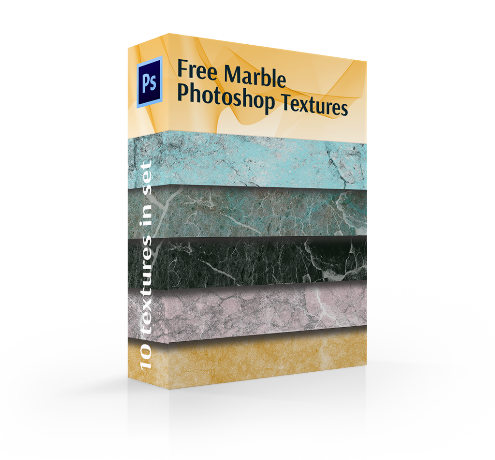 free marble texture photoshop cover box