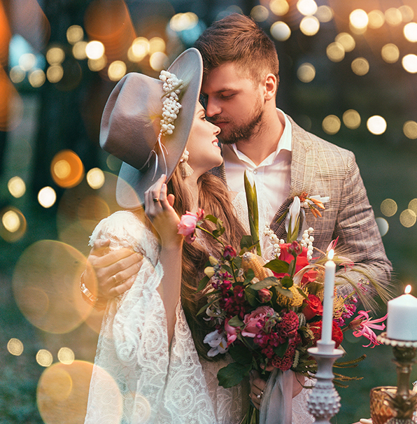 10 Times Rain Made A Wedding Even More Special: Download Free Photoshop Overlays