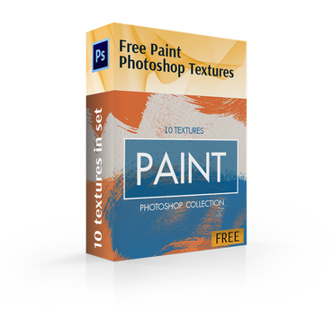 free paint textures for photoshop cover box
