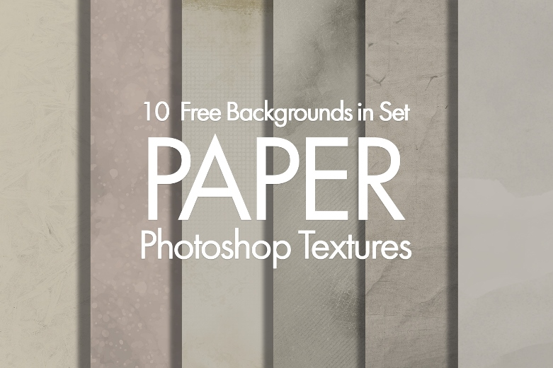 free paper texture photoshop poster girl dancing