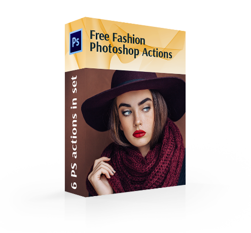 fashion photoshop actions free cover box