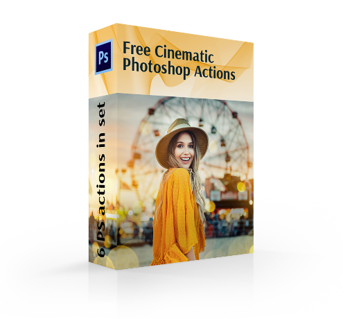 vsco photoshop actions cover box girl