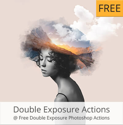 double exposure photoshop actions pack free download