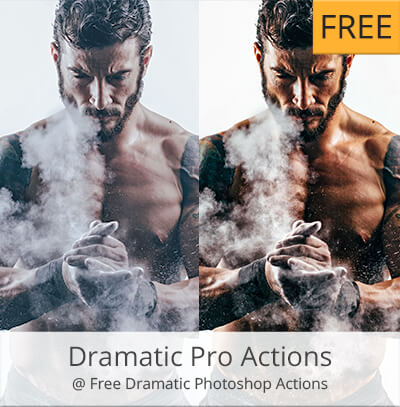 dramatic acciones photoshop gratis