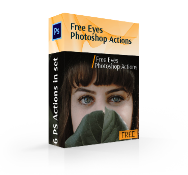 free photoshop actions download for eyes cover box