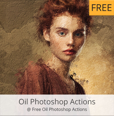 oil free photoshop actions for portraits free download
