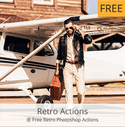 retro acciones photoshop gratis